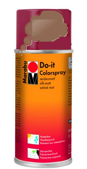 Краска аэрозольная Marabu Do It медь 150мл