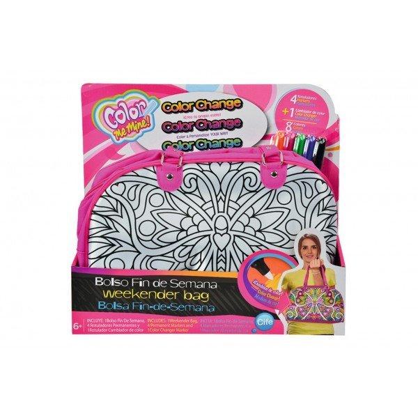 Набор для разукрашивания Сумка Бабочка + 5 маркера перм.