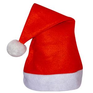 НГ Колпак Деда Мороза короткий