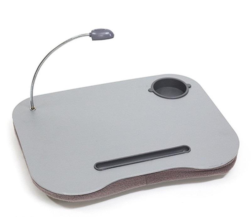 Столик для ноутбука с подушкой и подсветкой Серый