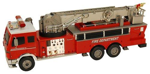 Радиоуправляемая Пожарная машина пластмас.