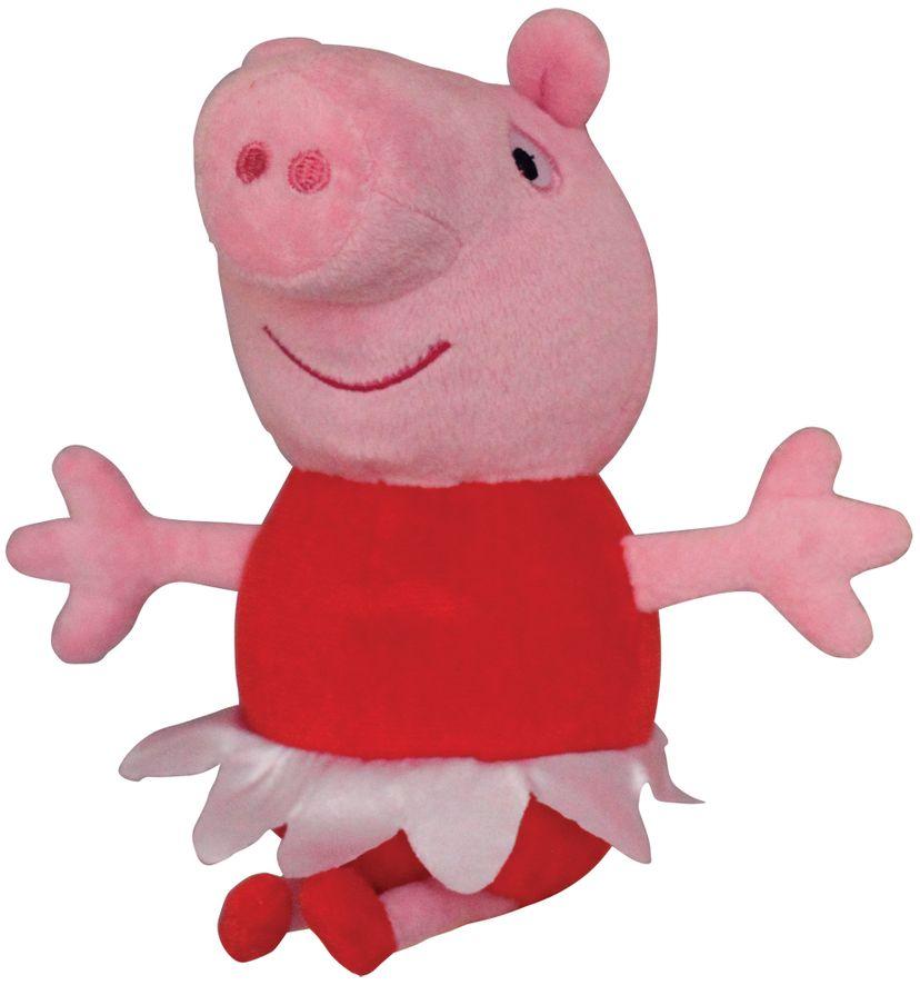 Мягконабивная Peppa Pig Пеппа Балерина 20 см.
