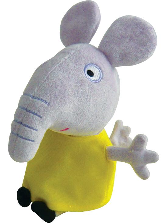 АКЦИЯ-20 Игр Мягконабивная Peppa Pig Слоник Эмили 20 см.