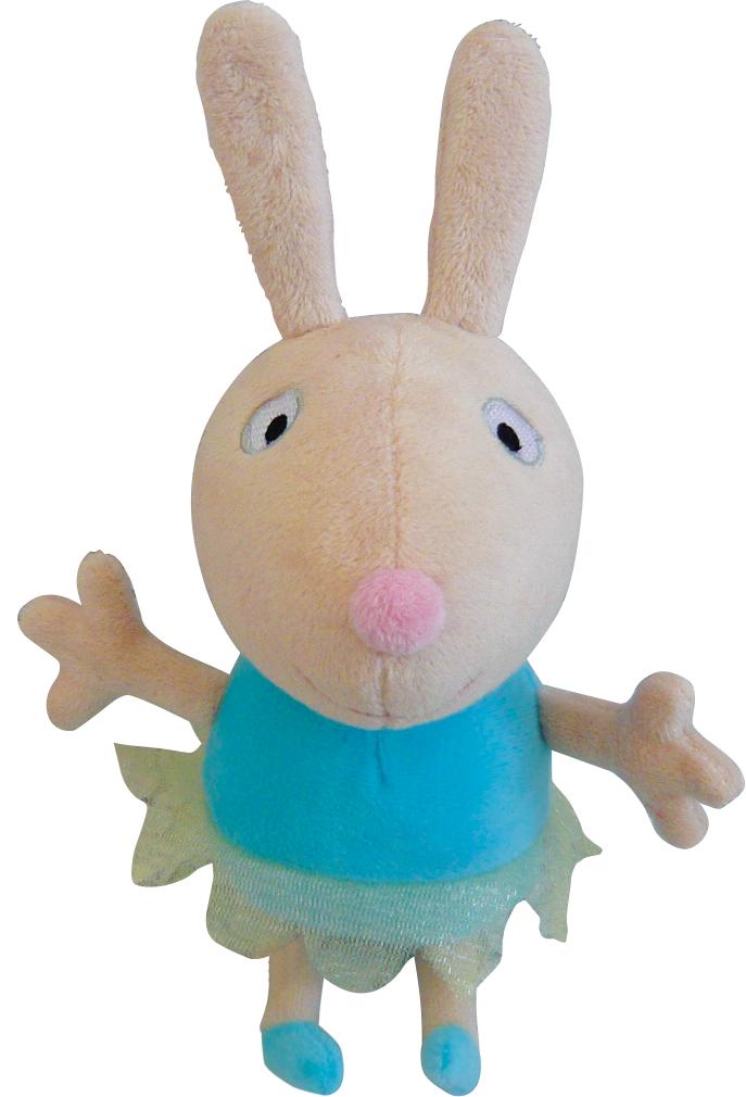 Мягконабивная Peppa Pig Кролик Ребекка Балерина 20 см.
