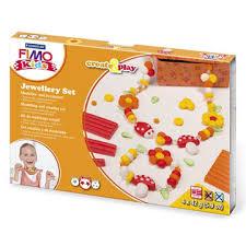 Набор для создания украшений Fimo Kids Create&Play Цветы