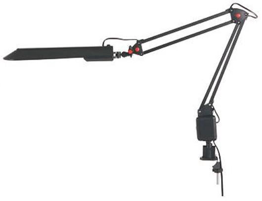 Лампа настольная СТАРТ черная струбцина (11Вт, цоколь  G23? 50Гц
