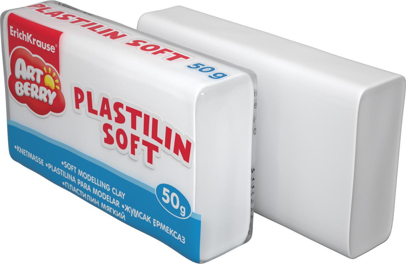 Пластилин 1 цв EK Artberry Белый мягкий 50гр
