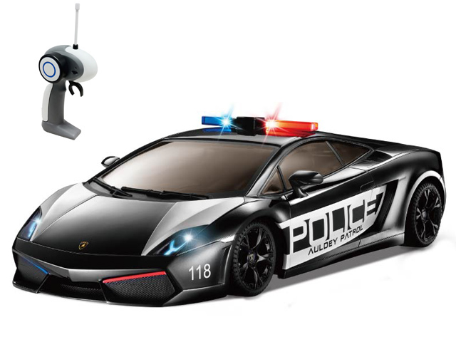 Радиоуправляемая Машина Lamborghini LP560-4 Gallardo Police 1:1