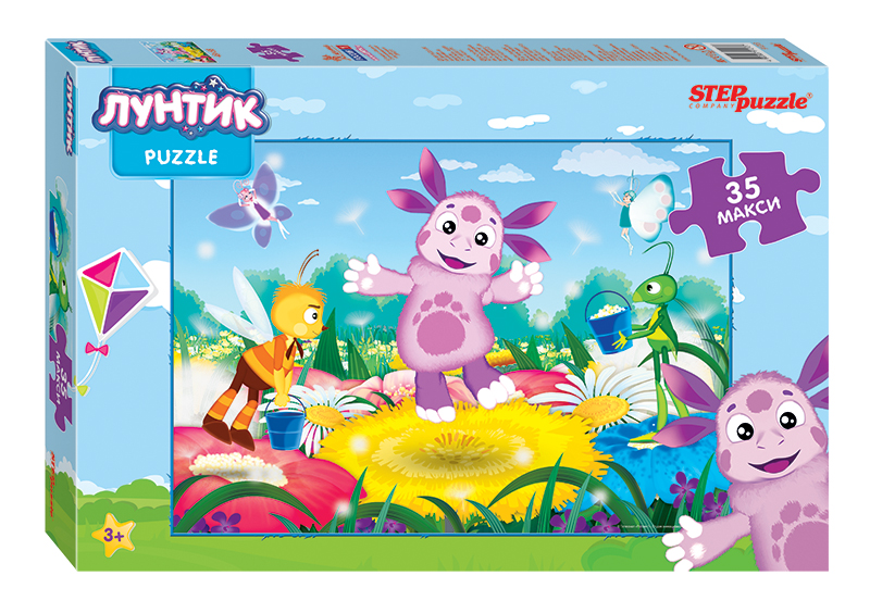 Пазл 35 Step Maxi Disney Лунтик