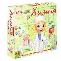 АКЦИЯ19 Игр Набор для исследования Химия 40 экспер.
