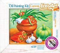 Творч Холст масл краск 24х30 Дары природы