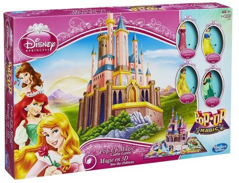 Набор Pop-Up Magic Принцессы дисней. Волшебный замок для принцесс