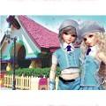 АКЦИЯ19 Пазл 35 ПМ 35558 Волшебный мир. Куклы в голубых беретках