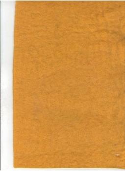 Фетр лист декор 20х30см 2,5мм Яркий оранжевый 100% шерсть
