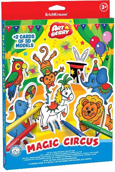 Пазл 3D EK Artberry Волшебный цирк