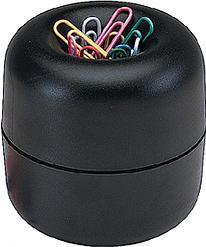 Диспансер д/скрепок магнитный + 30 цветных скрепок