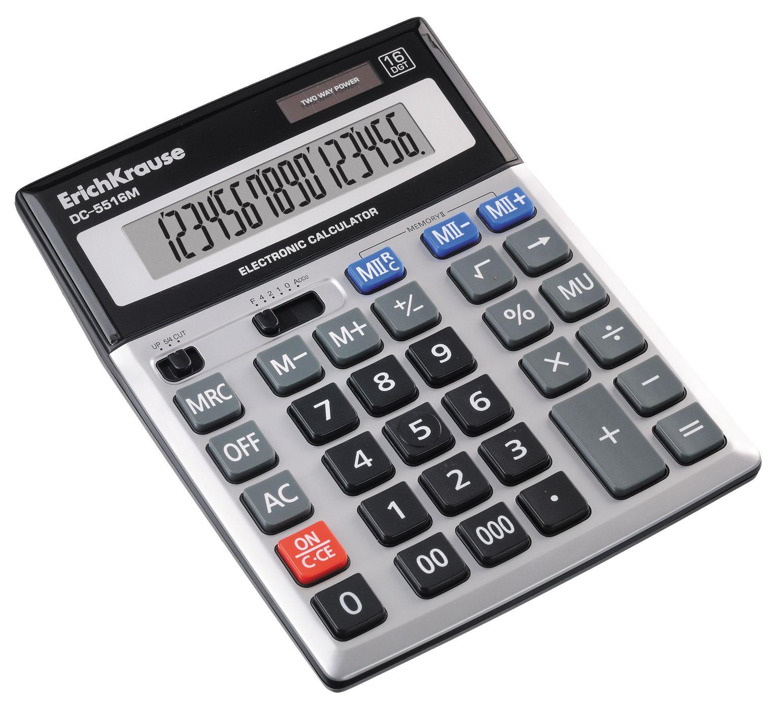 Калькулятор 16 разр. EK
