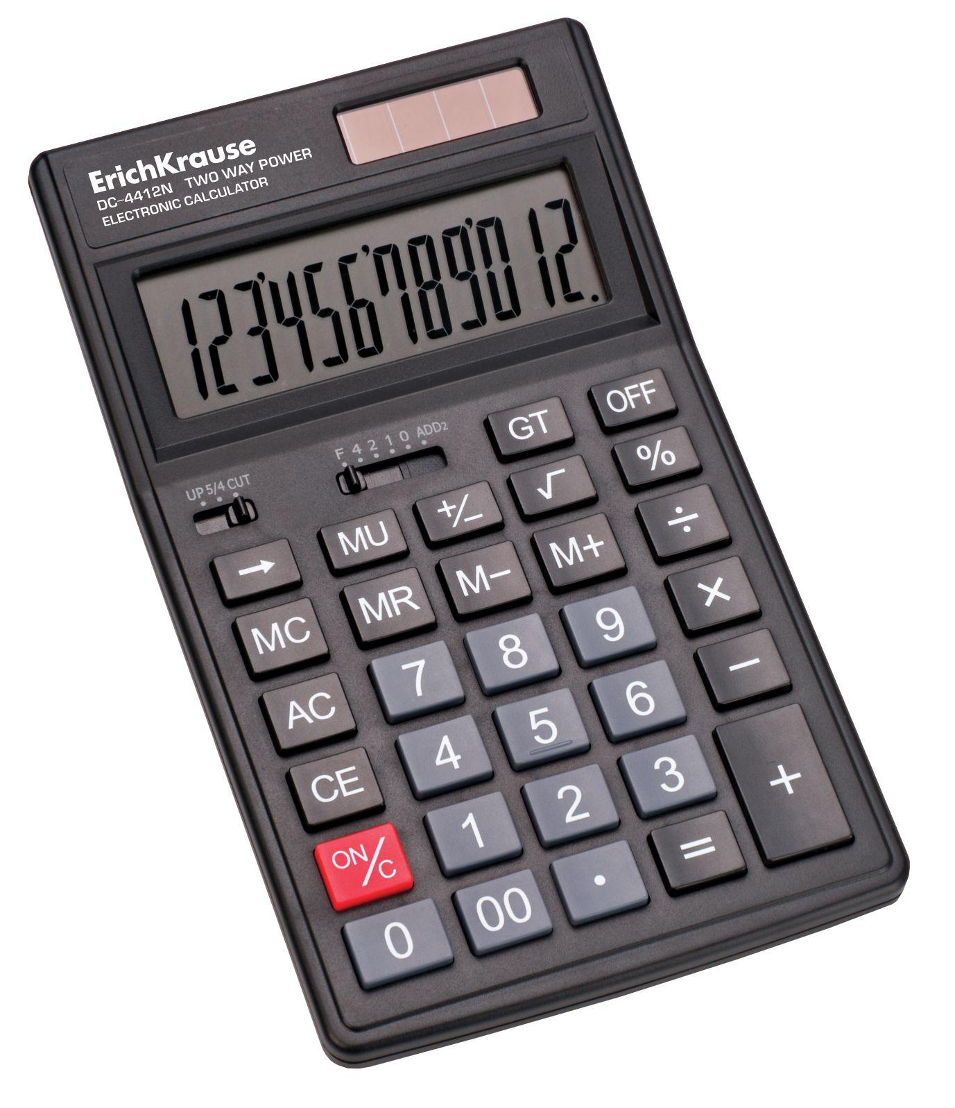Калькулятор 12 разр. EK DC-4412N
