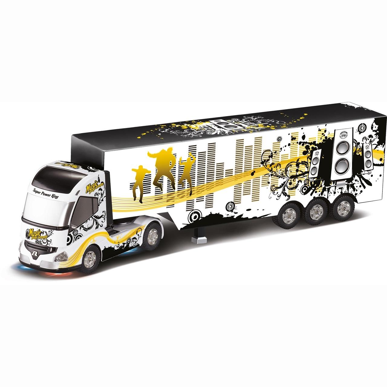 Радиоуправляемая Машина Дальнобойщик Trak&Bus Regalia