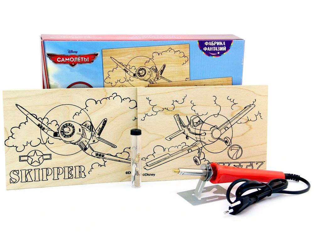 Набор для выжигания Disney Самолеты Шкипер и Дасти с прибором