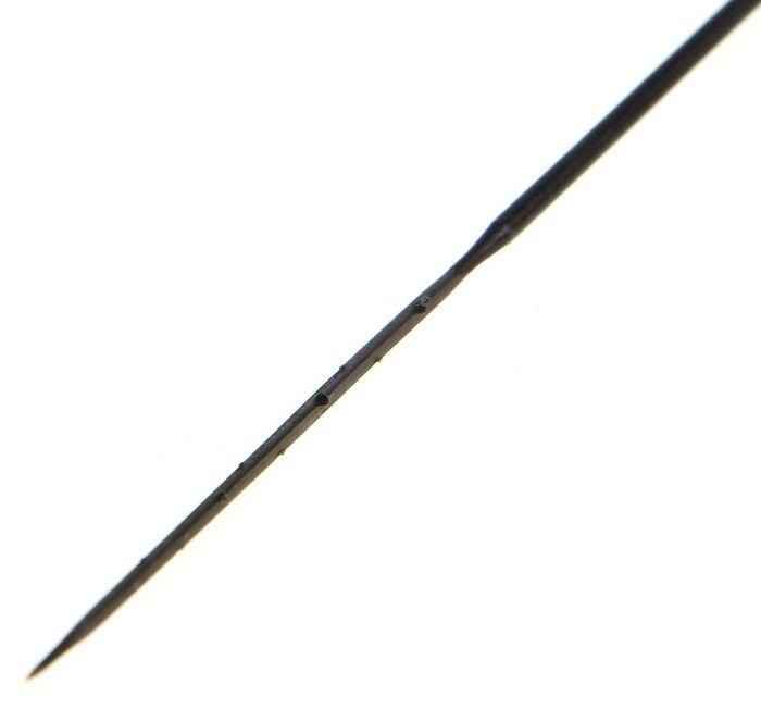 Игла №2 для сухого валяния волокна, для финишной увалки Черная