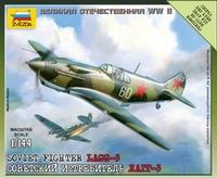 Сборная модель Советский истребитель ЛаГГ-3 1941-1945 1/144
