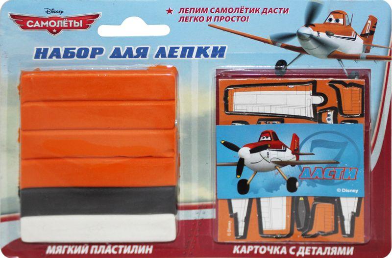 Набор д/лепки Самолетик Дасти 60г.  (мягк. пласт.)