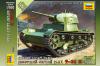 Сборная модель Советский легкий танк Т-26 1/100
