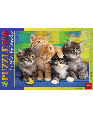 Пазл 500 Дружные котята