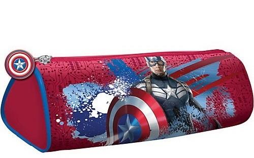 Пенал-косметичка Limpopo Captain America со скруг