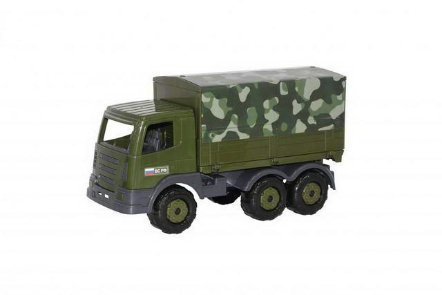 Автомобиль бортовой тентовый военный Престиж пластм.