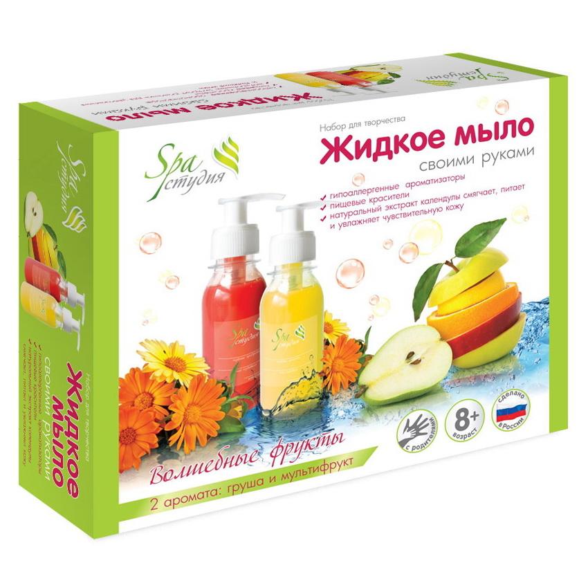 Творч Жидкое мыло своими руками Волшебные фрукты