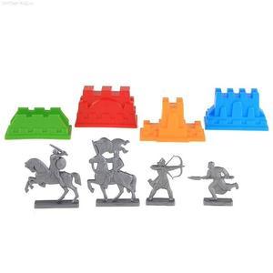 АКЦИЯ19 Игр Песочный набор Формочки Крепость + фигурки воинов
