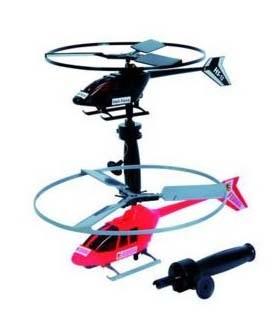 Вертолет Saker с запускным устройством