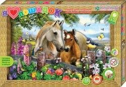 "Аппликация 3D Картина ""Я люблю лошадок"""