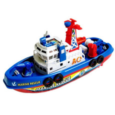 Катер электрон. стреляет водой пластмас. Fire Boat