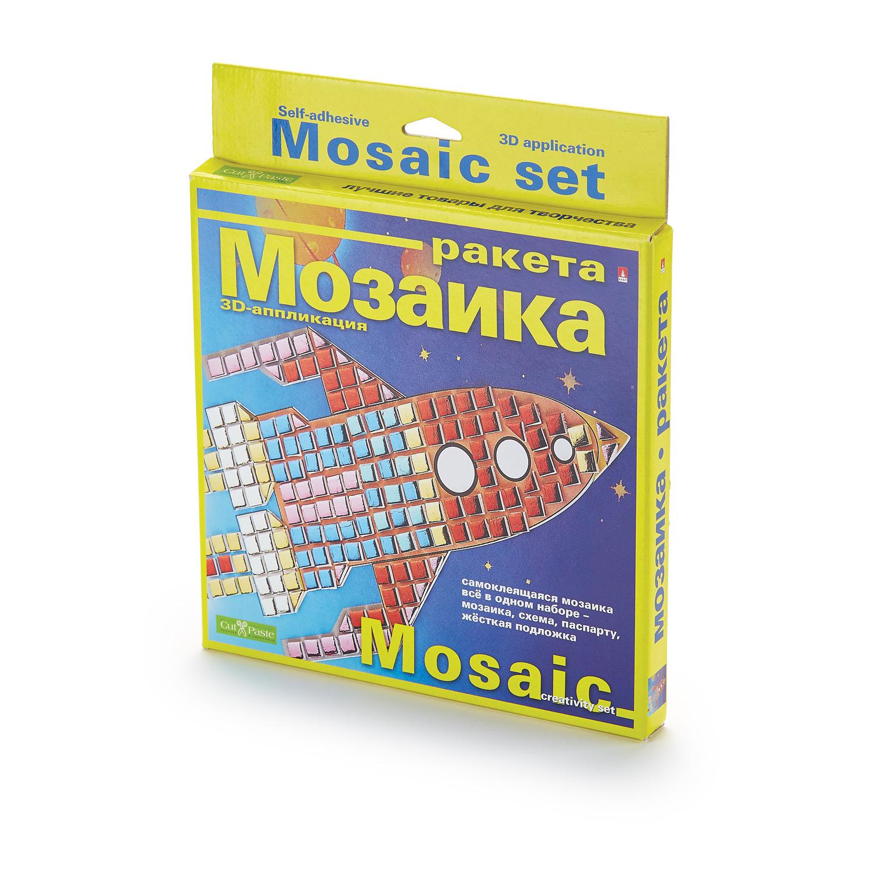 Мозаика самокл. Ракета