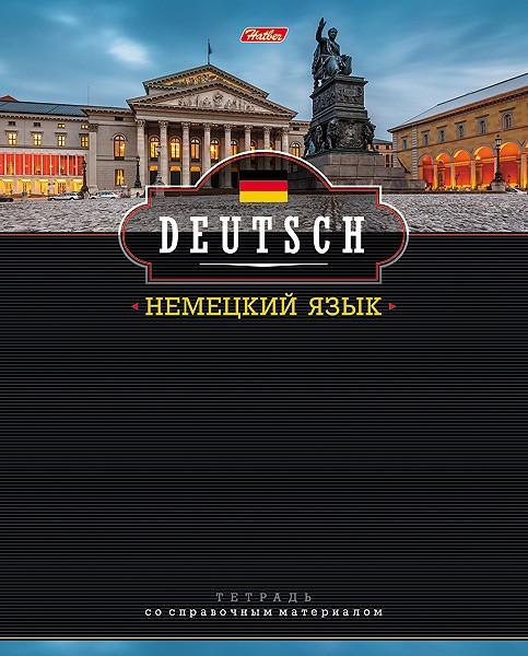 Тетрадь 46л кл темат Немецкий язык Панорама