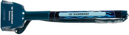 Ручка гелевая синяя Silwerhof Springfix на липучке