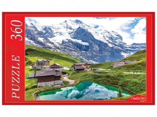 Пазл 360 Кристальное озеро в горах