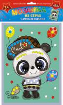 Творч Мозаика из страз самокл. Панда