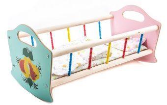 Кроватка для кукол деревянная бол