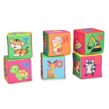 Мягконабивная Кубики Весёлая азбука