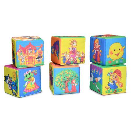 Мягконабивная Кубики Весёлые сказки