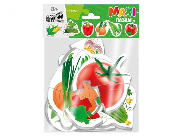 Пазл Maxi Овощи 6 шт