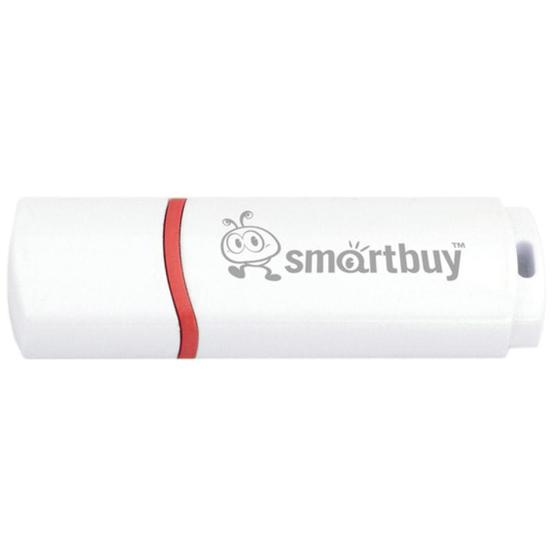 Флэш-карта USB 32GB 2.0 Smart Buy Crown белая