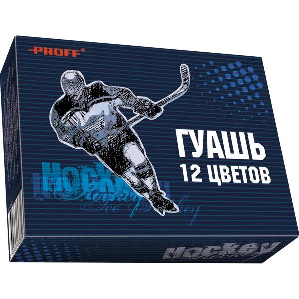 Гуашь 12цв Proff Спорт Хоккей 20см3