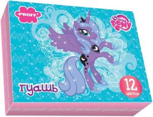 Гуашь 12цв Proff My Little Pony 20см3