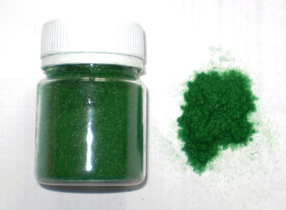 Ворсовая пудра зеленая 10гр