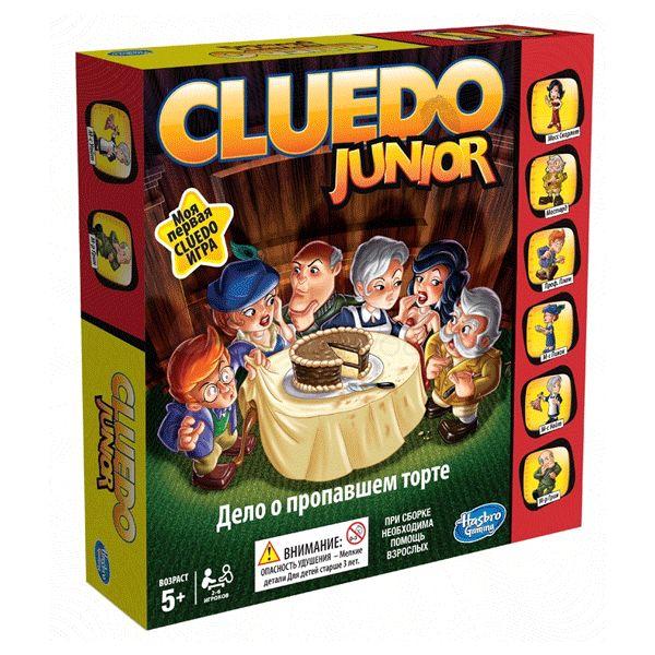 Настольная Мое первое Клуэдо CLUEDO Junior